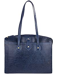 Hidesign Women's Shoulder Bag (Blue)