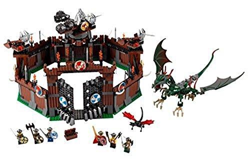 LEGO 7019 Vikings - Fortaleza y dragón