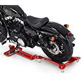 Rail de Rangement Moto ConStands M2 rouge