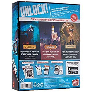 Asmodee-Unlock Exotic Adventures, Color jeu d'aventures (SCUNL04FR)