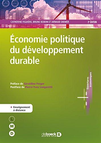 Économie politique du développement durable (LMD Économie + EAD) par Catherine Figuière