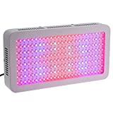 Docooler 1200W LED Grow Light Full Spectrum Plant Lamp for Greenhouse and Indoor Hydroponic Plant Flowering Growing