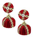Factorywala Velvet Lace Designer Earring...