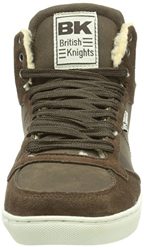 British Knights DOUGLAS, Sneaker alta Donna Marrone (Braun (DK Brown04))