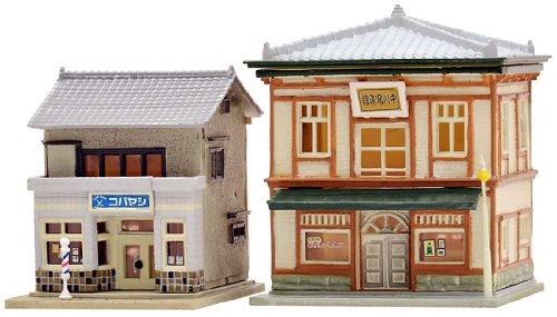 tomytec-254911-casa-de-juego-con-dos-edificios-modelo-ferrocarril-accesorios
