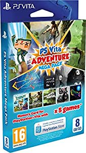 Adventure Games Mega Pack + Carte Mémoire 8 Go pour PS Vita