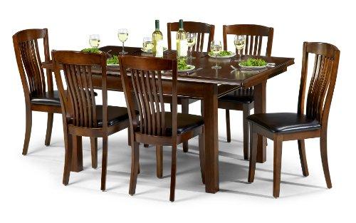 Julian Bowen Canterbury Dining Chairs, Mahogany, Set of 2