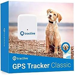 Tractive traceur GPS chien - Collier GPS pour chien léger et étanche avec porté illimitée (modèle précédent)