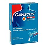 Gaviscon Advance Pfefferminz Suspension 12X10 ml