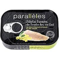 Parallèles Filets fumés de truite arc en ciel au duo d'huiles d'olive et de colza La boite de 115g - Prix Unitaire...