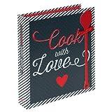 """Rezeptordner """"Cook with Love"""" im A5-Format"""