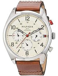 Tommy Hilfiger Herren-Armbanduhr Analog Quarz Leder 1791208
