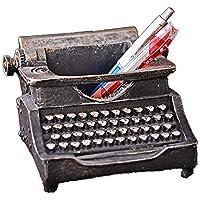 FayooChristmas Creativo máquina de Escribir Estilo Pluma Titular Retro Antigua Oficina decoración Suave decoración Resina artesanía