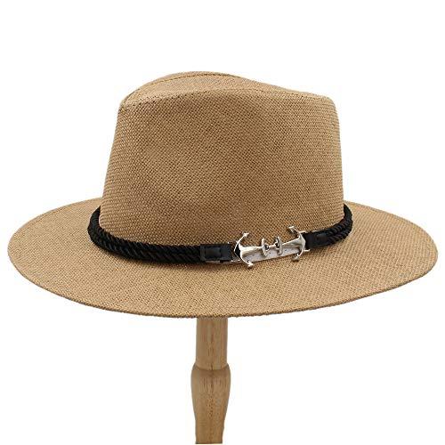 SKKMALL Hombres Mujeres británicos Retro Sombrero
