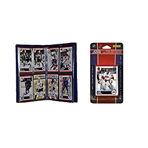 C & I Sammlerst-cke 2010HURRTS NHL Carolina Hurricanes Licensed 2010 Ergebnis Team Set und Lagerung Album