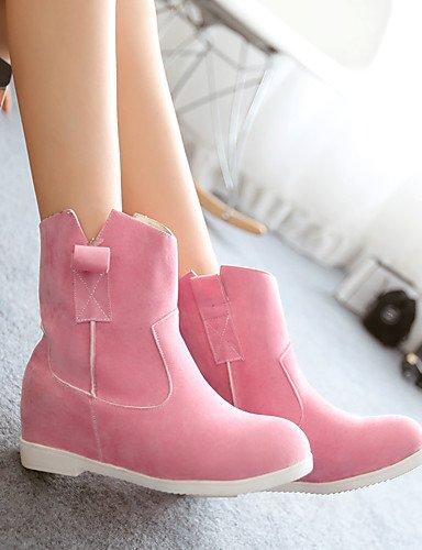 ShangYi Mode Frauen Schuhe Damenschuhe Stiefel Mode Plattform / Outdoor / Büro & Karriere / Casual Plattform OthersBlack / &519 Schwarz