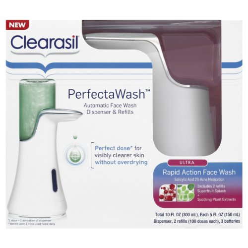 clearasil-perfectawash-automatic-face-wash-dispenser-and-refills-10-ounce