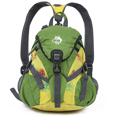 Leichte Bergsteigen Beutel Diagonal Schulter Tasche 15L Lightgreen