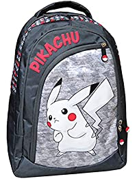 Preisvergleich für Pokemon Großer Rucksack mit drei Pikachu-Fächern