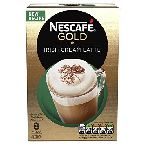 Nescaf� Caf� Menu Irish Cream 8 Sachets (Pack Of 6, Total 48 Sachets)