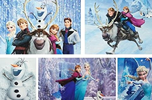 Ceaco Disney's Frozen 5-in-1 Multipack Jigsaw Puzzle Set by Ceaco