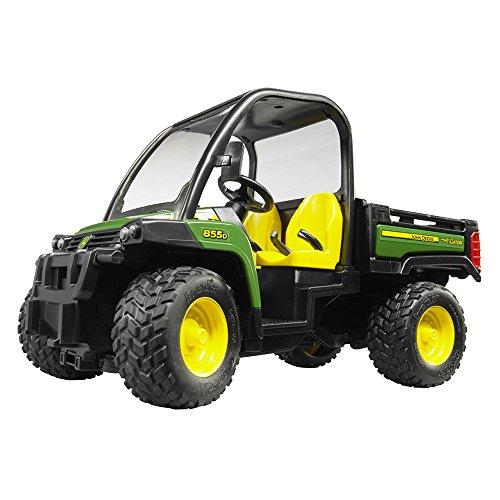 Bruder 02491 TOYS John Deere Gator XUV 855D - John Deere Harvester