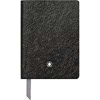 Montblanc 113295 Cuaderno Fine Stationery #145 – Bloc de líneas A7, negro