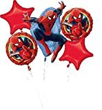 "Amscan International 3271401 ""Ultimate Spiderman Foil Balloon Bouquet"