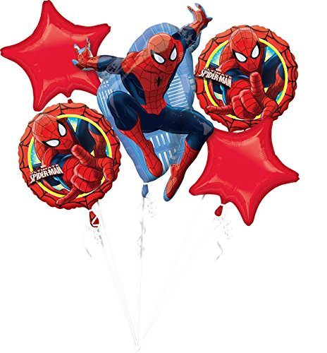amscan 3271401 Spiderman Folienballon Set Ultimate Spider-Man