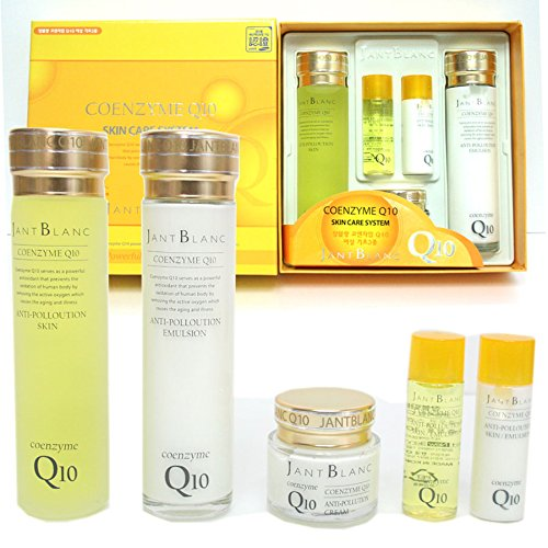 Jant Blanc Coenzyme Q10 Skin Care Set (Five-item) Skin,emulsion,cream, Skin (Free Travel Size),emulsion (Free Travel Size)