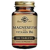 Solgar Magnesio con Vitamina B6 - 100 Tabletas