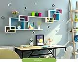 SESO UK- Multi - Funktions - Hintergrund WandGestell Hängebuch Gestell Home Decoration Display Lagerung Rack - Auf Wohnzimmer Zimmer Restaurant, Covers 200cmx90cm