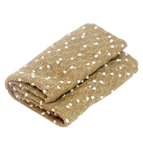 Amorar Neugeborene Baby Häkelarbeit Knit Wrap Tuch Fotografie Props Photo Requisiten Stretch Wrap Fotografie Props Decke Wraps Stretch Newborn Foto Wraps für Junge Mädchen,EINWEG Verpackung
