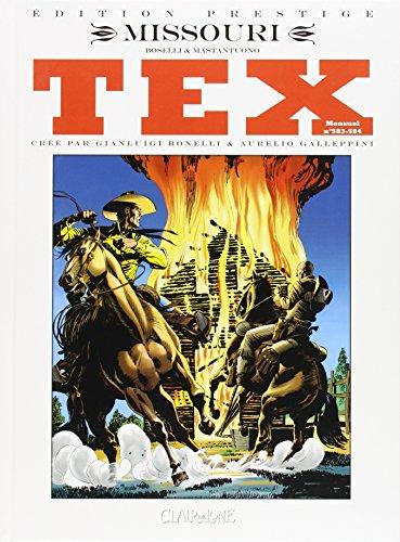 Tex, Tome 1 et 2 : Missouri - I due guerriglieri : Edition prestige