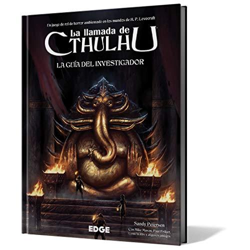 Edge Entertainment-La La Llamada de Cthulhu - Guía del investigador, Color (EECHCT02)