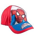 Spiderman Jungen Cap - rot - 52