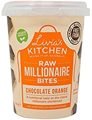 Livia's Kitchen Large Chocolate Orange Millionaire Bites, 180 g.