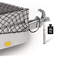 Unitec 10038 - Balanza de carga vertical, 100 kg, aluminio