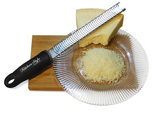 Grattugia/rigalimone professionale di alta qualità, per formaggio, limone, parmigiano, cioccolato, zenzero, noce moscata e aglio