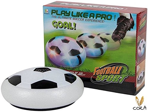 Indoor Football Sport Toys The Ultimate Soccer Game By Cora , With Multi Lighting Feature -Magic Hover Football Toy Indoor Play Game Best Toy For Kid