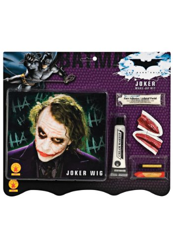 Rubies Costume Co. Inc Deluxe Joker Wig & Makeup Kit Standard