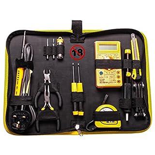 Antex KC8JSZ0 XS25 Soldering Tool Kit, Black/Yellow