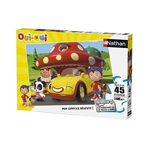 Nathan - 86460 - Puzzle - Oui-Oui 1 - 45 pièces