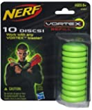 Nerf - 336871480 - Jeu de tir - Recharges Vortex X10