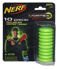 Idea Regalo - Hasbro 33687148 Nerf Vortex 10 Dischi