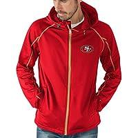 """San Francisco 49ers NFL G-III """"Resistance"""" Full Zip Hooded Premium Men's Jacket"""