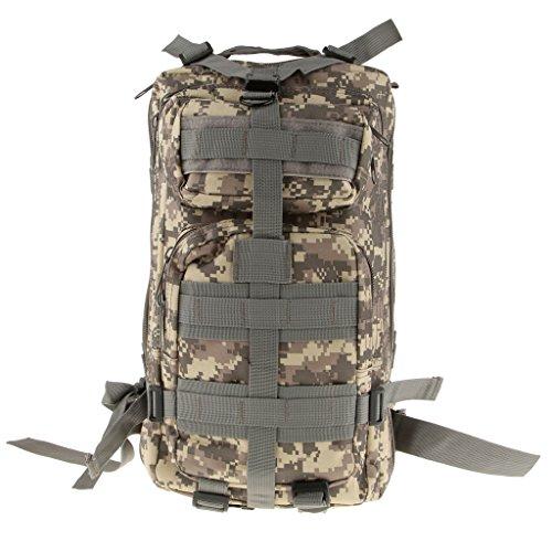 Imagen de bolsa de senderismo al aire libre táctica militar  de senderismo acampar 30l  acu