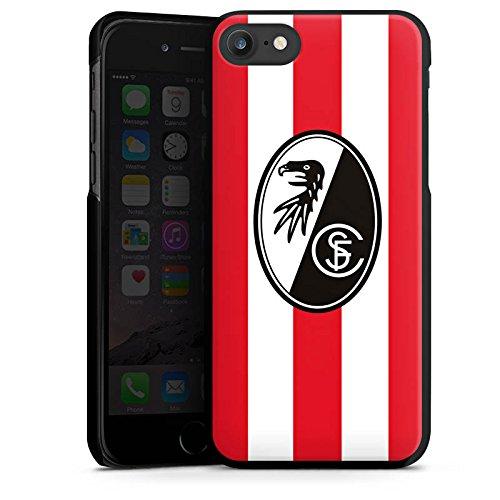 Apple iPhone X Silikon Hülle Case Schutzhülle SC Freiburg Fanartikel Fußball Hard Case schwarz