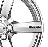 Mazda 6 x ruote in lega-Adesivi adesivi alta qualità, 2, 3, 6, 7, RX7 RX