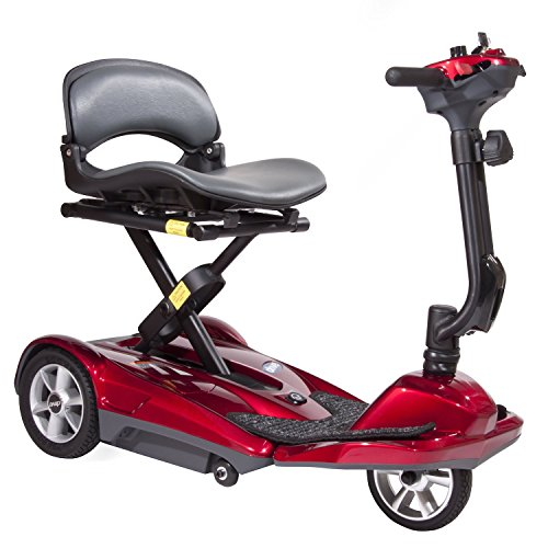 ability-superstore-lightweight-curlew-automatic-folding-scooter-red